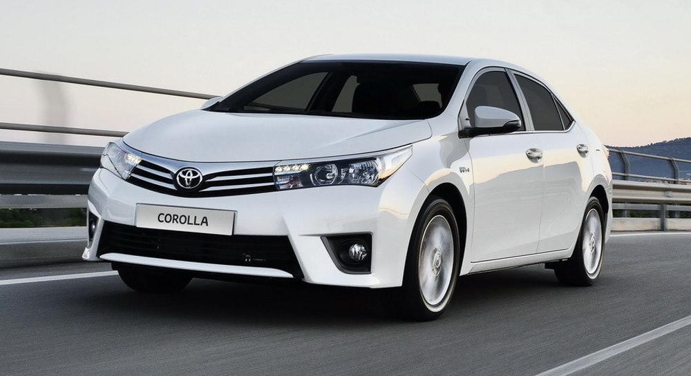 Toyota Corolla Е160 седан
